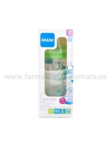 MAM BIBERON ANTICOLICO ANTICOLIC EASY START +2 MESES 260 ML