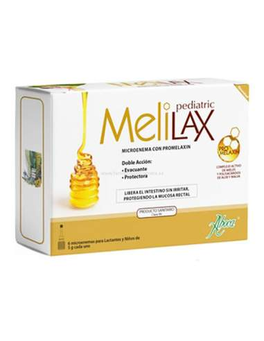 ABOCA MELILAX PEDIATRIC MICROENEMAS 5 G 6 UNIDADES