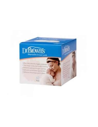 DR BROWN,S DISCOS ABSORBENTES LACTANCIA DESECHAB 60 U