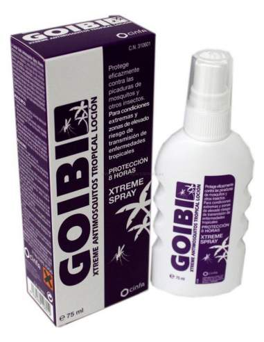 GOIBI XTREME ANTIMOSQUITOS TROPICAL LOCION REPEL