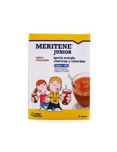 MERITENE JUNIOR POLVO CHOCOLATE 15 SOBRES 30 G