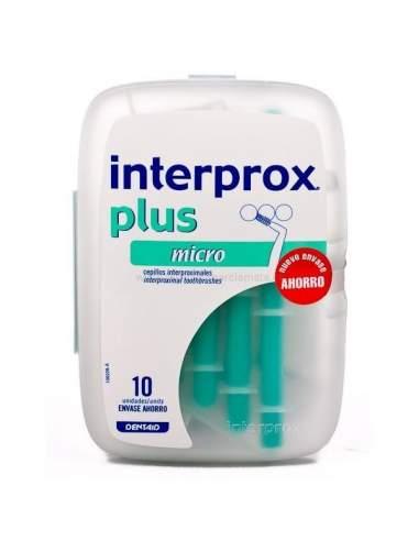 CEPILLO INTERPROX PLUS MICRO 10 ANGULO (VERDE)