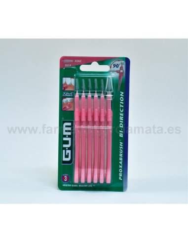 GUM 2614 BI-DIRECTION FINO CONICO1.2 MM 6 U (ROSA)