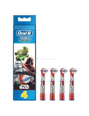 ORAL B RECAMBIOS CEPILLO DENTAL ELECTRICO INFANTIL STAR WARS 4