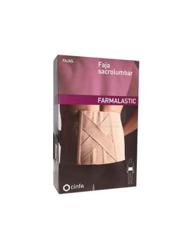 FAJA FARMALASTIC SACROLUMBAR CONTORNO CINT 105-1