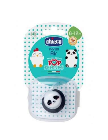 CHICCO CHUPETE LATEX POP FRIENDS PHYSIO AIR 6-12M