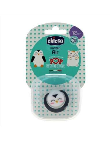 CHICCO CHUPETE LATEX POP FRIENDS PHYSIO AIR 12M+