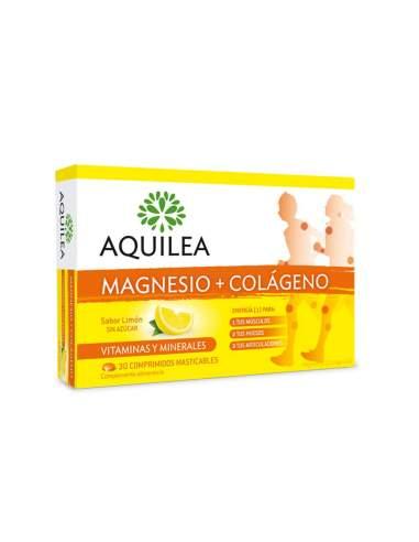 AQUILEA MAGNESIO COLAGENO 30 COMPRIMIDOS MASTICABLES