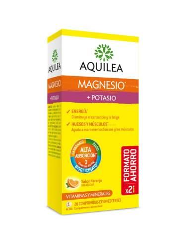 AQUILEA MAGNESIO + POTASIO 28 COMP EFERV