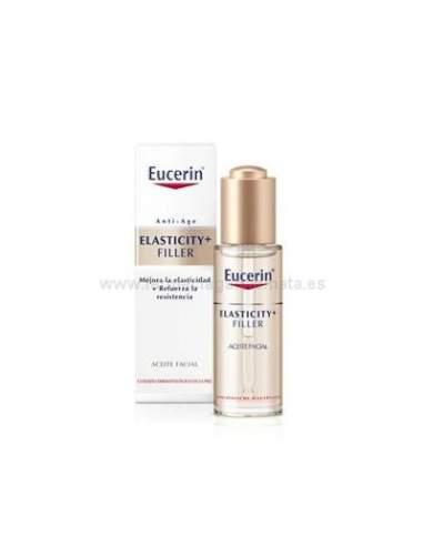 EUCERIN ELASTICITY + FILLER ACEITE FACIAL 30 ML