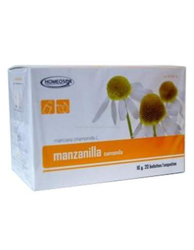 HOMEOSOR MANZANILLA INFUSION 20 BOLSITAS