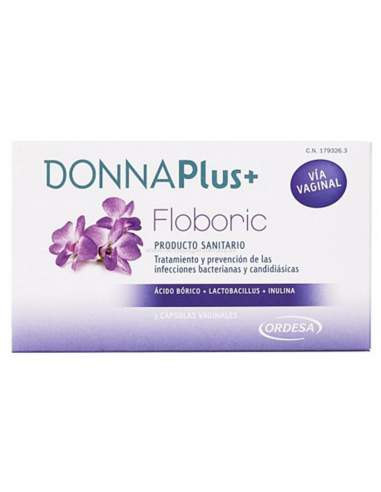 DONNA PLUS FLOBORIC CAPSULAS VAGINALES 7 CAPS VAGINALES