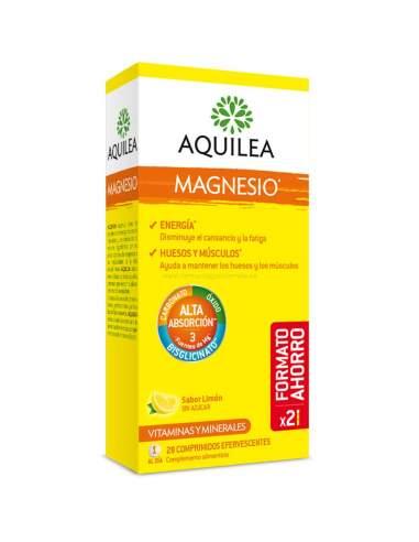 AQUILEA MAGNESIO EFERVESCENTE 28 COMPRIMIDOS (2*1)
