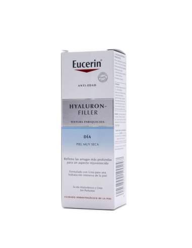 EUCERIN HYALURON - FILLER DIA TEXTURA ENRIQUECIDA PIEL MUY SECA