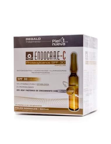 ENDOCARE C PROTEOGLICANOS SPF30 ANTIOXI 2 ML 30 AMPOLLAS