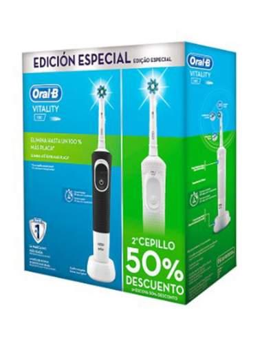 ORAL B CEPILLO ELECTRICO VITALITY CROSS ACTION DUPLO