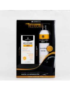 HELIOCARE 360º PACK WATER GEL SPF50+ 50ML + SPRAY INVISIBLE