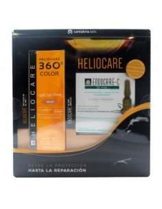 HELIOCARE 360 GEL OIL-FREE BRONZE 50 ML + ENDOCARE C OIL-FREE 7