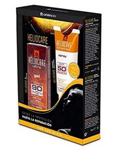 HELIOCARE ULTRA GEL 90 + SPRAY SPF 50 75 ML