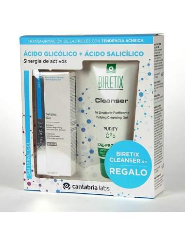 NEOSTRATA GEL SALIZINC 50 ML +BIRETIX CLEANSER DE REGALO