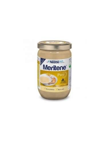 MERITENE PURE 300 G POLLO PASTA Y CHAMPIÑONES