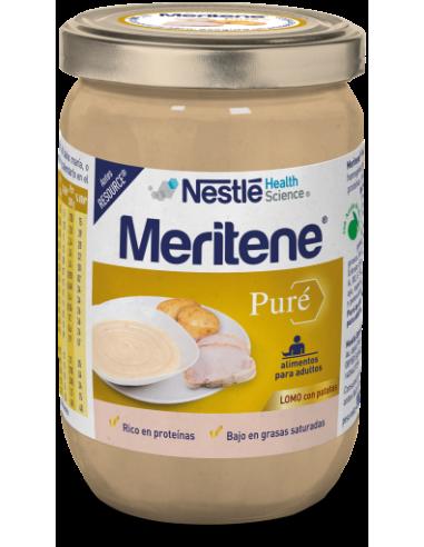 MERITENE PURE 300 G LOMO CON PATATAS