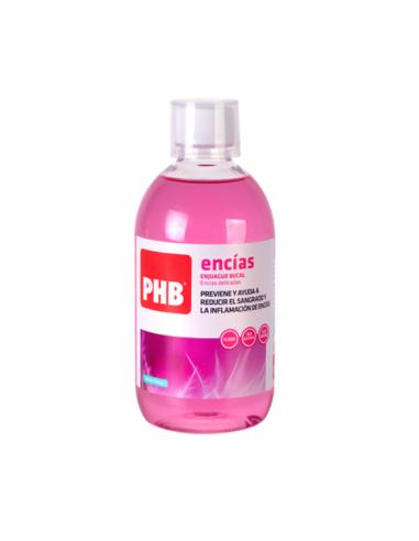 PHB ENCIAS ENJUAGUE BUCAL 500 ML