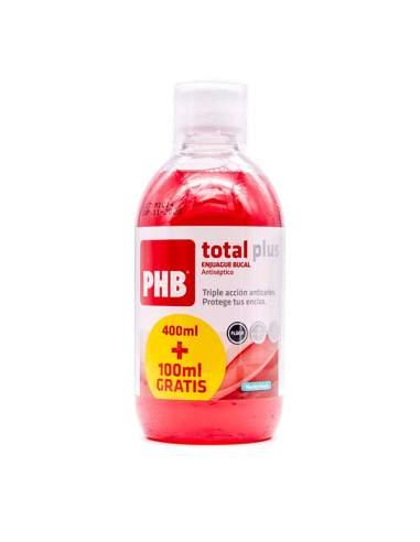 PHB TOTAL PLUS ENJUAGUE BUCAL MENTA 500 ML