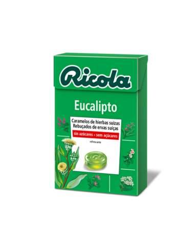 RICOLA CARAMELO EUCALIPTO