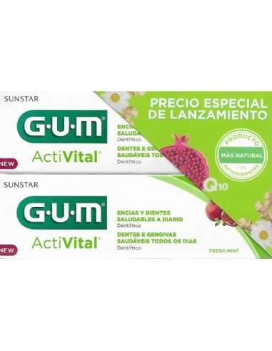 GUM PACK ACTIVITAL PASTA 2 X 75 ML