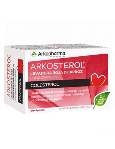 ARKOSTEROL 60 CAPSULAS