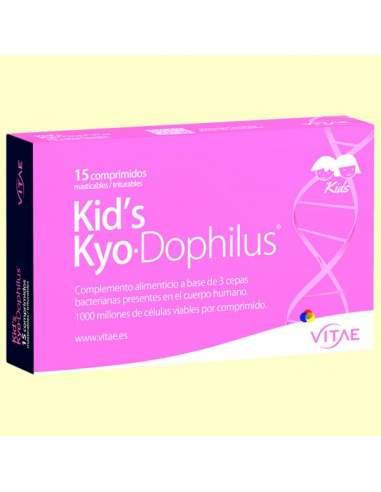 VITAE KID'S KYODO-PHILUS 15 COMPRIMIDOS MASTICABLES