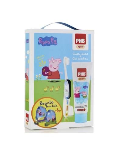 PHB PETIT PACK GEL DENTIFRICO INFANTIL + CEPILLO + REGALO PEPPA