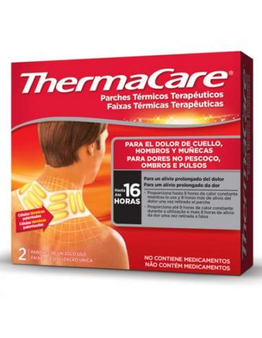 THERMACARE CUELLO 2 PARCHES TERMICOS