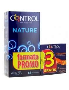 CONTROL ADAPTA NATURE 12 U + 3 FINISSIMO REGALO