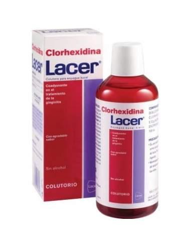 LACER COLUTORIO CLORHEXIDINA 500 ML