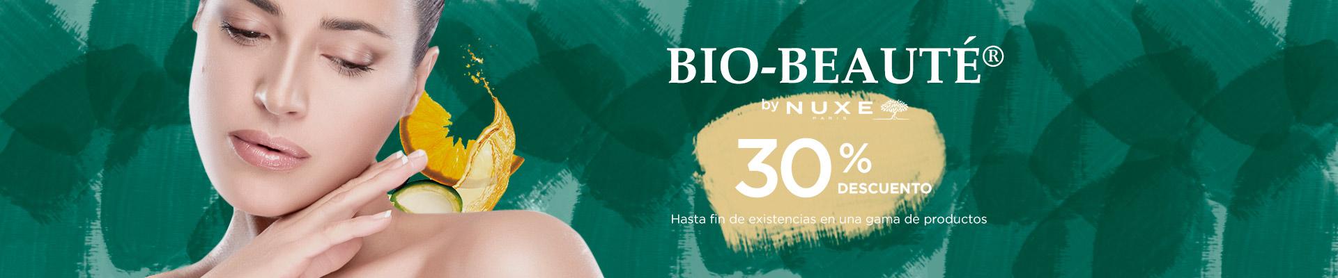 Descuento 30% Nuxe Bio Beaute hasta fin de existencias