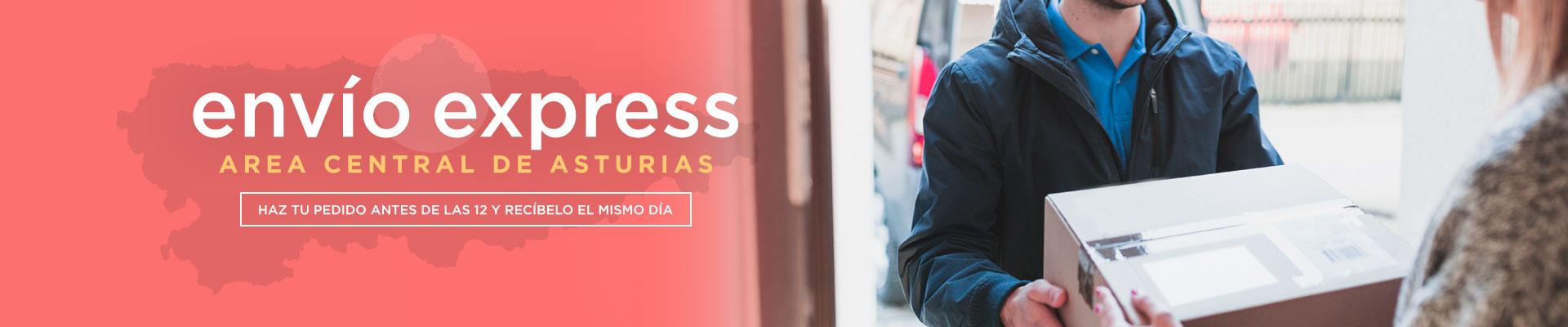 Servicio express en el área central de Asturias